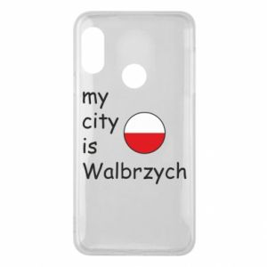 Etui na Mi A2 Lite My city is Walbrzych
