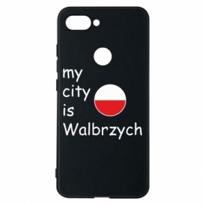 Etui na Xiaomi Mi8 Lite My city is Walbrzych