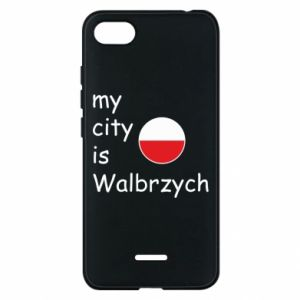 Etui na Xiaomi Redmi 6A My city is Walbrzych