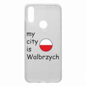 Etui na Xiaomi Redmi 7 My city is Walbrzych