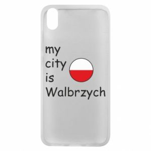Etui na Xiaomi Redmi 7A My city is Walbrzych