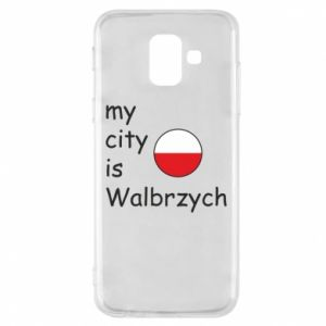 Etui na Samsung A6 2018 My city is Walbrzych