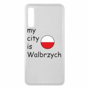 Etui na Samsung A7 2018 My city is Walbrzych