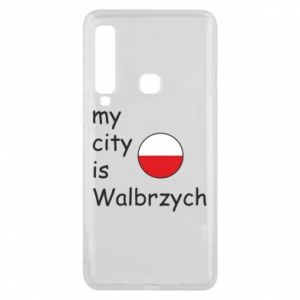 Etui na Samsung A9 2018 My city is Walbrzych
