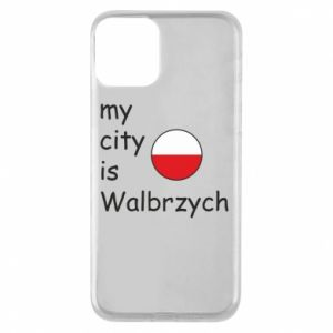 Etui na iPhone 11 My city is Walbrzych