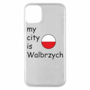 Etui na iPhone 11 Pro My city is Walbrzych
