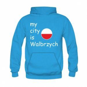 Kid's hoodie My city is Walbrzych