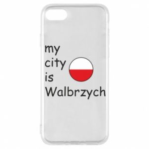 Etui na iPhone 8 My city is Walbrzych