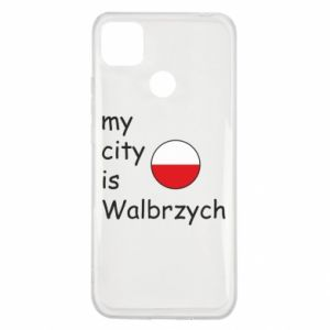 Xiaomi Redmi 9c Case My city is Walbrzych