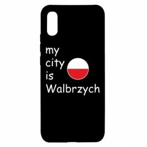 Xiaomi Redmi 9a Case My city is Walbrzych