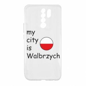 Xiaomi Redmi 9 Case My city is Walbrzych
