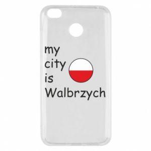 Xiaomi Redmi 4X Case My city is Walbrzych