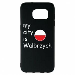 Samsung S7 EDGE Case My city is Walbrzych