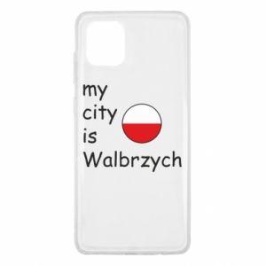 Samsung Note 10 Lite Case My city is Walbrzych