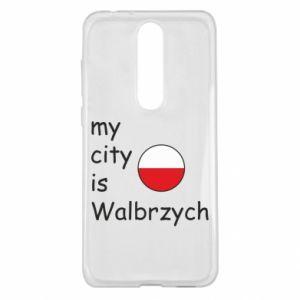 Nokia 5.1 Plus Case My city is Walbrzych