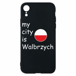 Etui na iPhone XR My city is Walbrzych