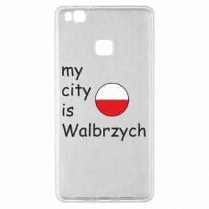 Huawei P9 Lite Case My city is Walbrzych
