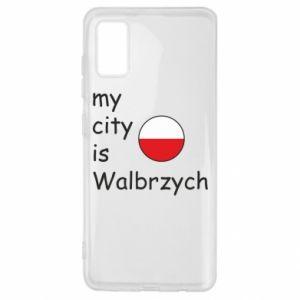 Samsung A41 Case My city is Walbrzych
