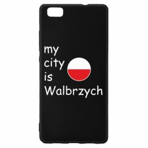 Huawei P8 Lite Case My city is Walbrzych