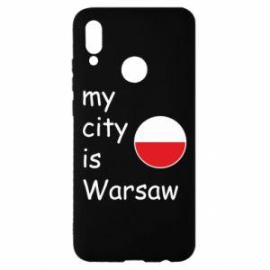 Huawei P Smart 2019 Case My city is Warsaw