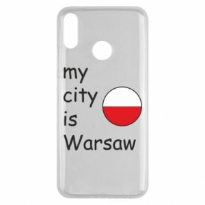 Huawei Y9 2019 Case My city is Warsaw