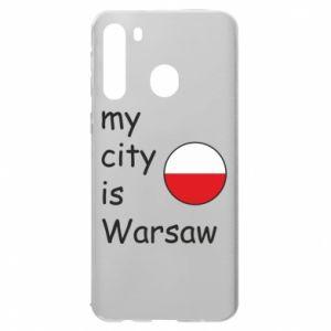 Samsung A21 Case My city is Warsaw