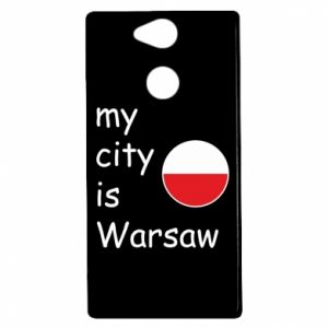 Sony Xperia XA2 Case My city is Warsaw
