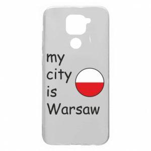 Xiaomi Redmi Note 9 / Redmi 10X case % print% My city is Warsaw