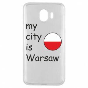 Samsung J4 Case My city is Warsaw
