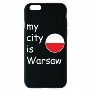 iPhone 6/6S Case My city is Warsaw