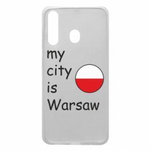 Etui na Samsung A60 My city is Warszaw