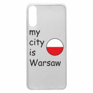 Etui na Samsung A70 My city is Warszaw
