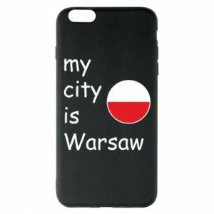Etui na iPhone 6 Plus/6S Plus My city is Warszaw