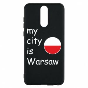 Etui na Huawei Mate 10 Lite My city is Warszaw