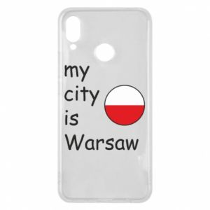 Huawei P Smart Plus Case My city is Warsaw