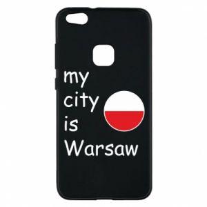 Huawei P10 Lite Case My city is Warsaw