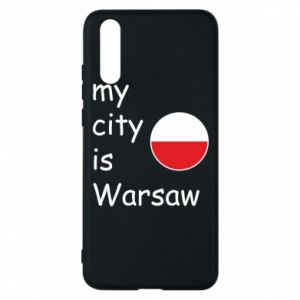 Huawei P20 Case My city is Warsaw