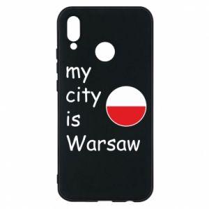 Huawei P20 Lite Case My city is Warsaw