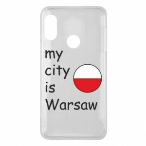 Mi A2 Lite Case My city is Warsaw