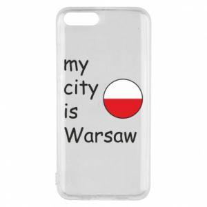 Xiaomi Mi6 Case My city is Warsaw