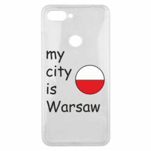 Xiaomi Mi8 Lite Case My city is Warsaw