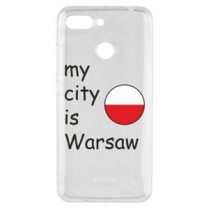 Xiaomi Redmi 6 Case My city is Warsaw