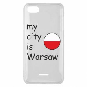 Xiaomi Redmi 6A Case My city is Warsaw