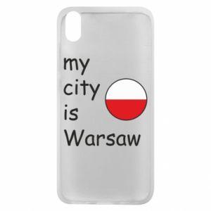 Etui na Xiaomi Redmi 7A My city is Warszaw