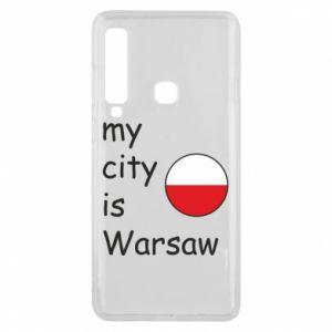 Etui na Samsung A9 2018 My city is Warszaw