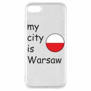 Etui na iPhone 8 My city is Warszaw