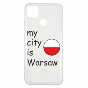Xiaomi Redmi 9c Case My city is Warsaw
