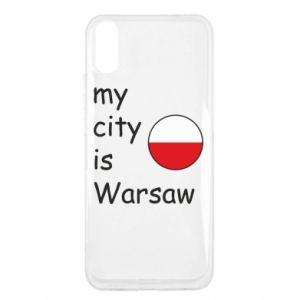 Xiaomi Redmi 9a Case My city is Warsaw