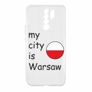 Xiaomi Redmi 9 Case My city is Warsaw