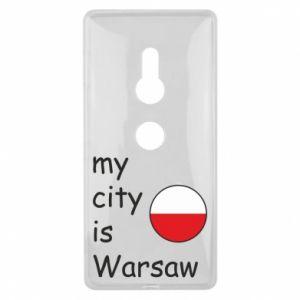 Sony Xperia XZ2 Case My city is Warsaw